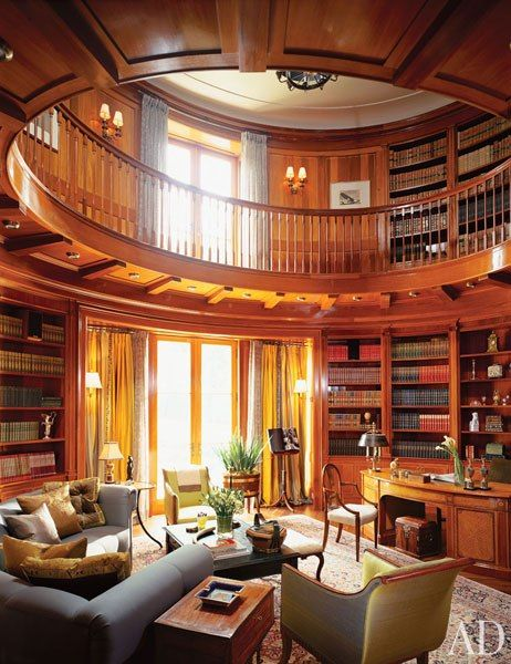 Beautiful home library