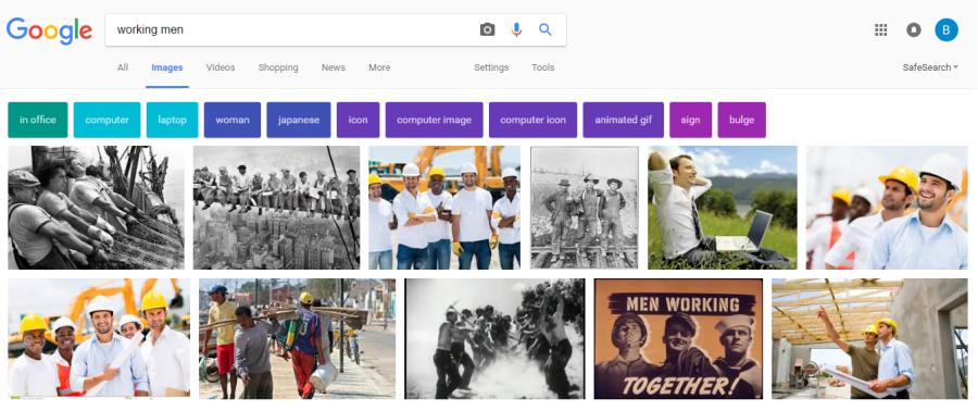 Working Men Google Image Search