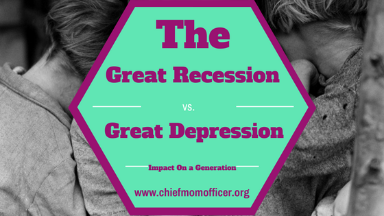 great depression vs. the recession essay The great depression 1929–1941 the longest and deepest downturn in the history of the united states and the modern industrial economy lasted more than a decade, beginning in 1929 and ending during world war ii in 1941.